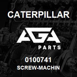 0100741 Caterpillar SCREW-MACHIN | AGA Parts