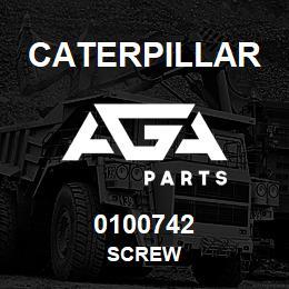 0100742 Caterpillar SCREW | AGA Parts