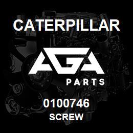 0100746 Caterpillar SCREW | AGA Parts