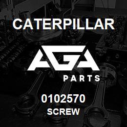 0102570 Caterpillar SCREW | AGA Parts