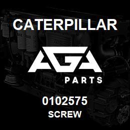 0102575 Caterpillar SCREW | AGA Parts