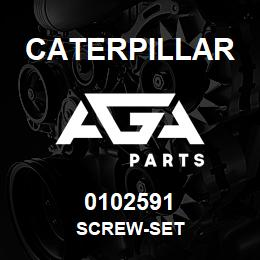 0102591 Caterpillar SCREW-SET | AGA Parts