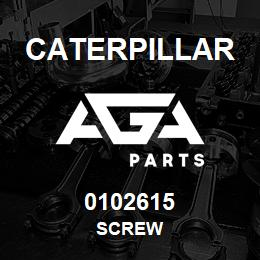 0102615 Caterpillar SCREW | AGA Parts