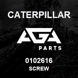 0102616 Caterpillar SCREW | AGA Parts