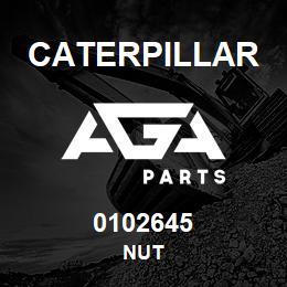 0102645 Caterpillar NUT | AGA Parts