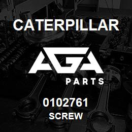 0102761 Caterpillar SCREW | AGA Parts