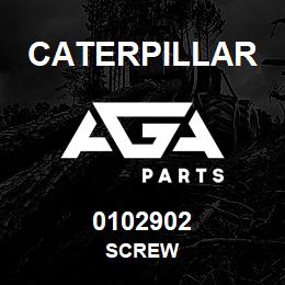 0102902 Caterpillar SCREW | AGA Parts