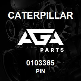 0103365 Caterpillar PIN | AGA Parts