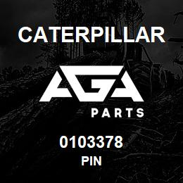 0103378 Caterpillar PIN | AGA Parts