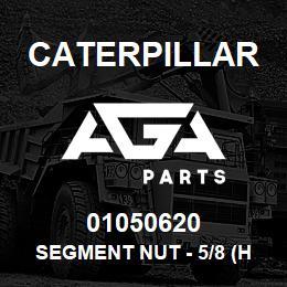 01050620 Caterpillar SEGMENT NUT - 5/8 (HEX) CAT D5/D6C | AGA Parts