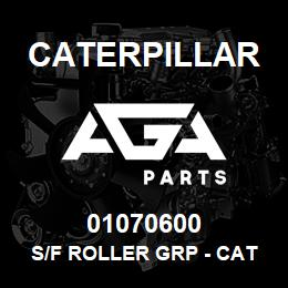 01070600 Caterpillar S/F ROLLER GRP - CAT D9N/R/T | AGA Parts