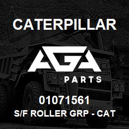01071561 Caterpillar S/F ROLLER GRP - CAT D6H/R - D6D | AGA Parts