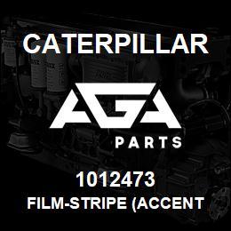 1012473 Caterpillar FILM-STRIPE (ACCENT RED) (800-CM) | AGA Parts