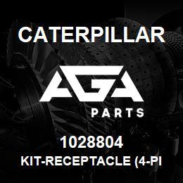 1028804 Caterpillar KIT-RECEPTACLE (4-PIN) (START SWITCH) | AGA Parts
