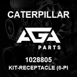 1028805 Caterpillar KIT-RECEPTACLE (6-PIN) (DISPLAY MONITOR HARNESS) | AGA Parts