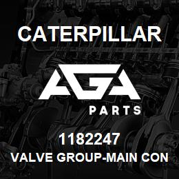 1182247 Caterpillar VALVE GROUP-MAIN CONTROL-2-FUNCTION | AGA Parts