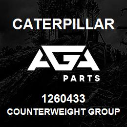 1260433 Caterpillar COUNTERWEIGHT GROUP | AGA Parts
