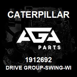 1912692 Caterpillar DRIVE GROUP-SWING-WITH MOTOR | AGA Parts