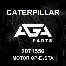 2071556 Caterpillar MOTOR GP-E /STA | AGA Parts