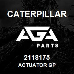 2118175 Caterpillar ACTUATOR GP | AGA Parts