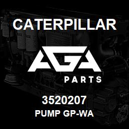 3520207 Caterpillar PUMP GP-WA | AGA Parts