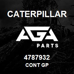 4787932 Caterpillar CONT GP | AGA Parts