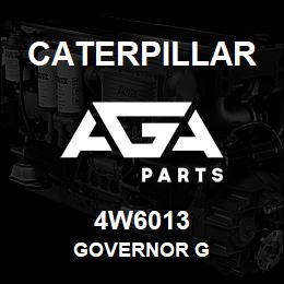 4W6013 Caterpillar GOVERNOR G | AGA Parts