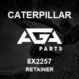 8X2257 Caterpillar RETAINER | AGA Parts