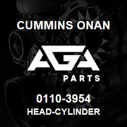 0110-3954 Cummins Onan HEAD-CYLINDER | AGA Parts