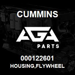 000122601 Cummins HOUSING,FLYWHEEL | AGA Parts