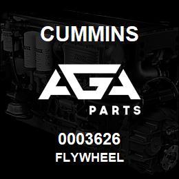 0003626 Cummins FLYWHEEL | AGA Parts