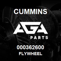 000362600 Cummins FLYWHEEL | AGA Parts