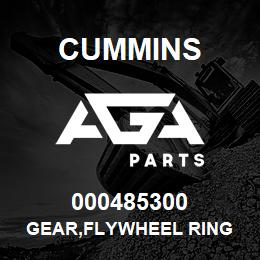 000485300 Cummins GEAR,FLYWHEEL RING | AGA Parts