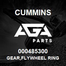 000485300 Cummins GEAR,FLYWHEEL RING   AGA Parts
