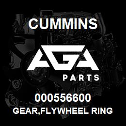 000556600 Cummins GEAR,FLYWHEEL RING | AGA Parts