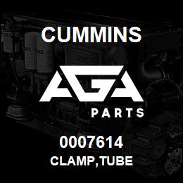0007614 Cummins CLAMP,TUBE | AGA Parts