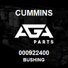 000922400 Cummins BUSHING | AGA Parts