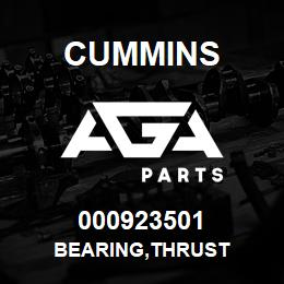 000923501 Cummins BEARING,THRUST | AGA Parts