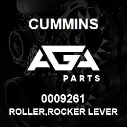 0009261 Cummins ROLLER,ROCKER LEVER | AGA Parts