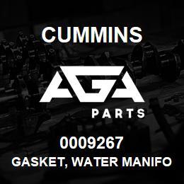 0009267 Cummins GASKET, WATER MANIFOLD | AGA Parts