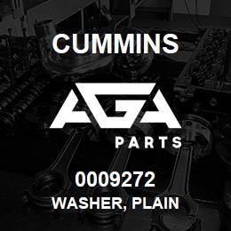 0009272 Cummins WASHER, PLAIN | AGA Parts