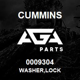 0009304 Cummins WASHER,LOCK | AGA Parts