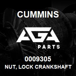 0009305 Cummins NUT, LOCK CRANKSHAFT | AGA Parts