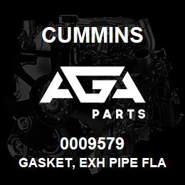 0009579 Cummins GASKET, EXH PIPE FLANGE | AGA Parts