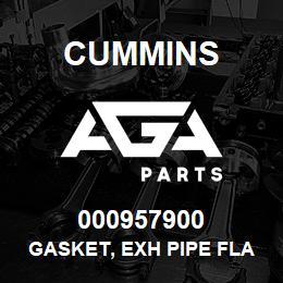 000957900 Cummins GASKET, EXH PIPE FLANGE