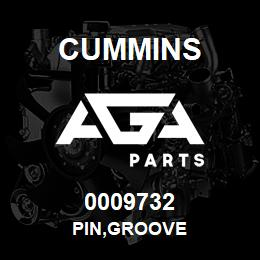 0009732 Cummins PIN,GROOVE | AGA Parts