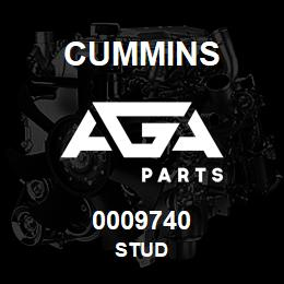 0009740 Cummins STUD | AGA Parts