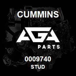 0009740 Cummins STUD | AGA Parts