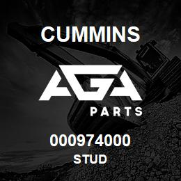000974000 Cummins STUD | AGA Parts