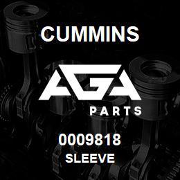 0009818 Cummins SLEEVE | AGA Parts